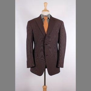 Hart Schaffner Marx 38R Gray Sport Coat Y002